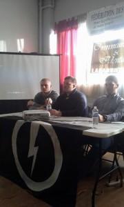conférence Casapound Italia et Blocco Studentesco