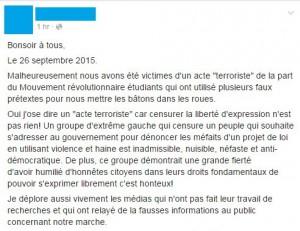 terroristed